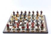 Satranç Takımı, K. Rus Ve Çeçen Savaşçıları, Hediy...