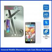 General Mobile Discovery 2 İçin Cam Ekran Koruyucu