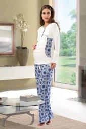 Shirly Hamile+lohusa Pijama Takım