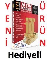 Altın Karma Tyt Deneme Seti 10 Farklı Yayın 10 Farklı Süper Fiyat