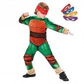 Ninja Turtles Klasik Kostüm 7 8 Yaş