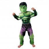 Hulk Klasik Kostüm 3 4 Yaş