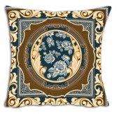 Mrs Pillow Andrea D 01 Desenli Kırlent 70x70cm Ebadında