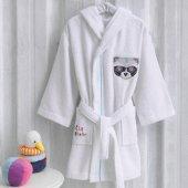Marie Claire Bornoz Raton 100 Pamuk 3 4 Yaş Çocuk Beyaz