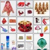 1001 Parça Klasik Osmanlı Kına Seti 7 Renk Kına Gecesi Malzemeler