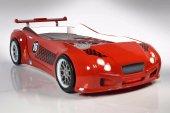 Arabalı Yatak Kırmızı Bentley Süper Lüx