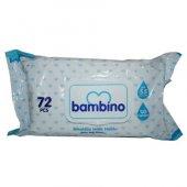 Bambıno İslak Havlu 72 Lı Mavı P0684