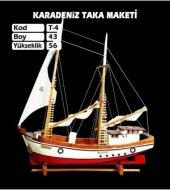 Ahşap Karadeniz Taka Maketi