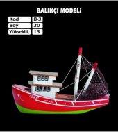Ahşap Karadeniz Balıkçı Gemi Maketi