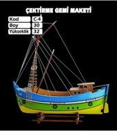Ahşap Karadeniz Çektirme Maketi