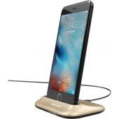 Baseus Little Volcano Apple İphone Stand Masaüstü Şarj Gold