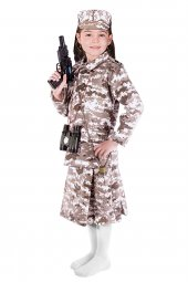 Asker Kız Kostümü