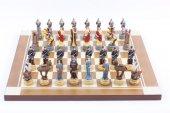 Satranç Takımı, Roma Ve Truva Askerleri