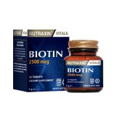Nutraxin Biotin 2500 Mcg 50 Tablet Skt 11 2020