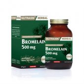 Nutraxin Herbal Bromelain 500 Mg 60 Tablet Skt 08 2020