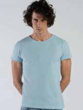 Ets 1155 B.mavi Erkek Tişört