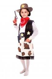 Kovboy Kostümü (Kız Çocuk)