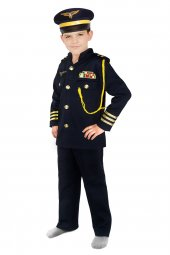 Pilot Kostümü (Erkek Çocuk)
