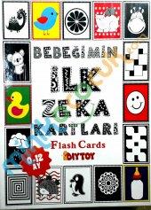 Bebeğimin İlk Zeka Kartları Orjinal Flash Cards Eğitici Kartlar 0 12 Ay