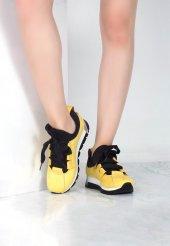Cirim Sarı Bayan Spor Ayakkabı
