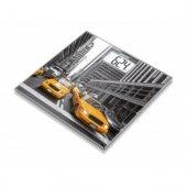 Beurer Gs 203 New York Desenli Cam Tartı Baskül Orj Alman Malı