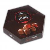 çikolata Kaplı Gül Aromalı Lokum