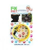 Fx Pet Kedi Pire Ve Dış Parazit Kene Tasması
