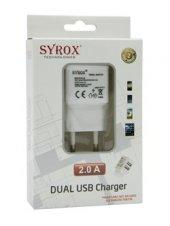 Syrox Syx J20 Usb Başlık 2a Çift Giriş