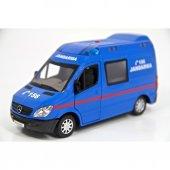 Vardem Mercedes Benz Jandarma 1 32 Metal Çek Bırak Araba Mavi