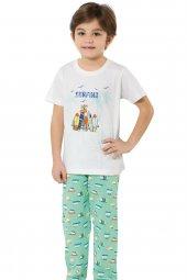 özkan 31187 Erkek Çocuk Pijama Takım
