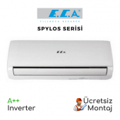 Eca Spylos Serisi 12.000 Btu (Ücretsiz Montaj) A++ Duvar Tipi Inverter Klima