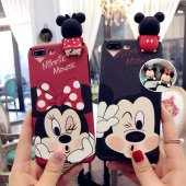 ı Phone 7 8 Cute Mouse Telefon Kılıfı