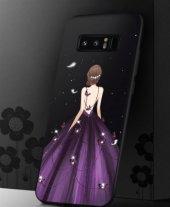 Samsung Note 8 Purple Wedding Dress Telefon Kılıfı