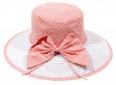 Bay Şapkacı Bayan Hasır Siperli Şapka