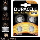 Duracell Özel Cr 2032 Lityum 3 Volt Düğme Pil 4&#039 Lü