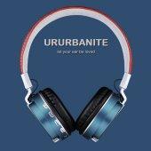 Metal Kablosuz Bluetooth Mikrofonlu Kulaklık Katlanabilir Bt 008