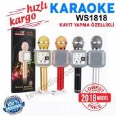 Wster Ws 1818 Orjinal Bluetooth Usb Fm Micro Sd Karaoke Mikrofon