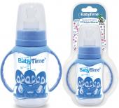 Babytıme (072) Damaklı Uclu Kulplu Bıberon 150 Ml