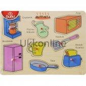 Bu Bu Ahşap Puzzle Mutfak Eşyaları Ap0057