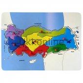 Bu Bu Ahşap Puzzle Türkiye Haritalar