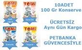 Tomi Pouch Yetişkin Kedi Konserve Karışık 10 Adet