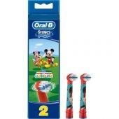 Oral B Diş Fırçası Yedek Başlığı Stages Çocuk 2 Adet