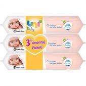 Uni Baby Cream Islak Havlu 3lü Fırsat Paketi 168 Yaprak