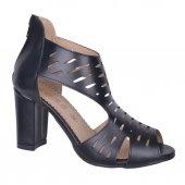 Shoes 246 Fermuarlı 7 Cm Topuk Yazlık Bayan Sandalet Ayakkabı
