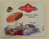 Waffle Kakao Ve Fındık Kremalı