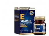 Nutraxin E Vitamin 200 Iu 60 Softgel