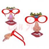 Plastik Işıklı Burun Gözlük Maskesi