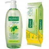 Komili Bebe Şampuanı 750 Ml + Islak Havlu Hediyeli(60 Lı)+kargo B