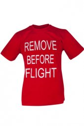 Thk Design Remove Before Flight T Shirt