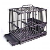 Qh Pet Cage Plastik Kuş Taşıma Kafesi 15,5 X 22,5 X 19 Cm